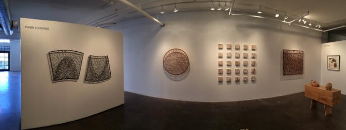 Wood Screens at Walker Fine Art, Denver