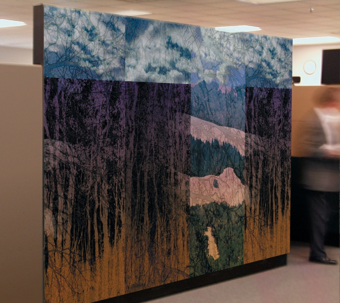 Mural Commission for Herman Miller Inc.